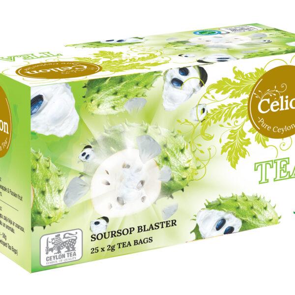Zaļā tēja ar Annona augļa aromātu 50g