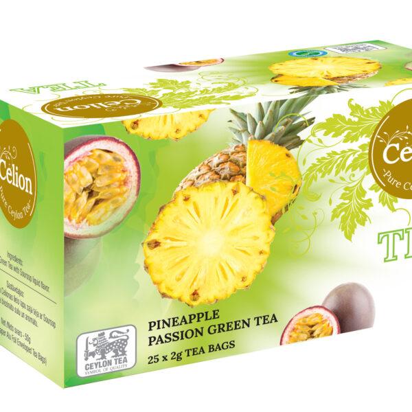 Zaļā tēja Ananass & Marakuja 50g