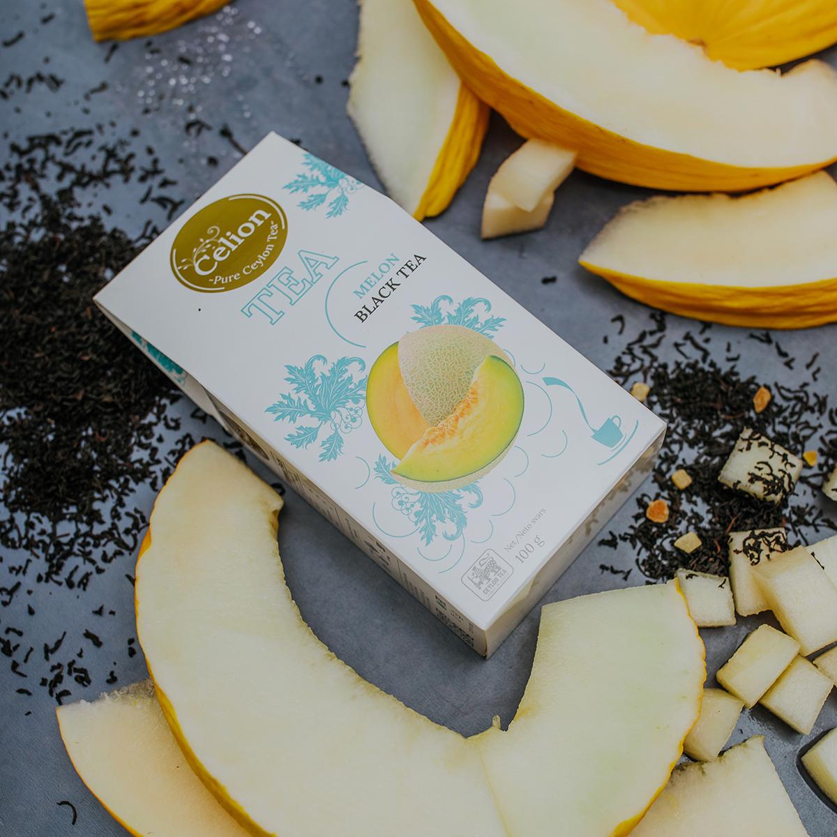 Melnā tēja Melone 100g