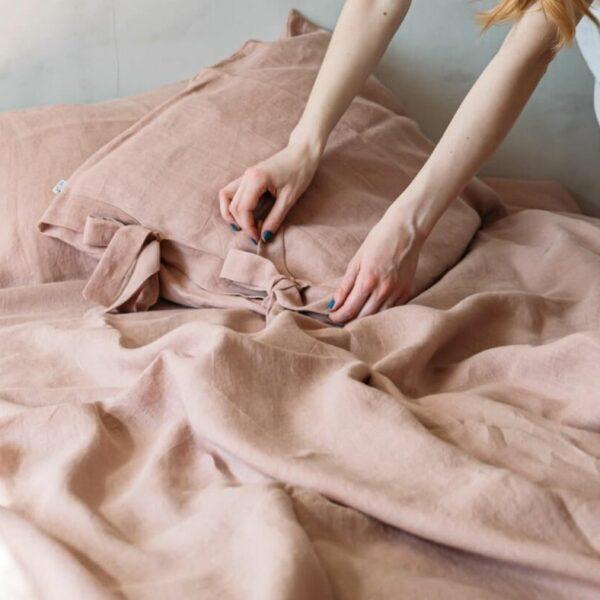 Lina gultasveļas komplekts